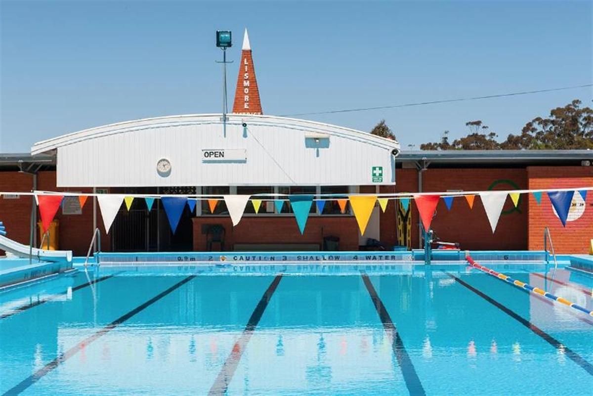 Lismore Outdoor Swimming Pool Corangamite Shire